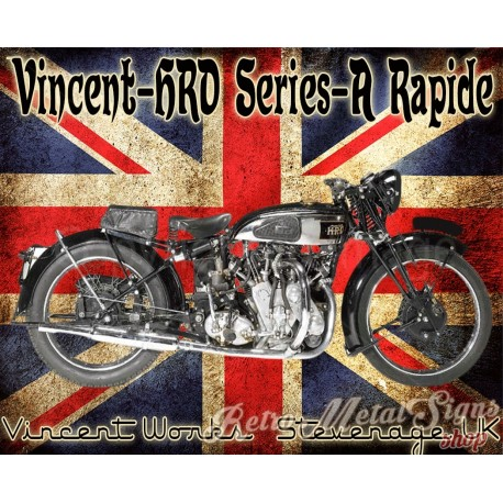 vincent-hrd-series-a-rapide-metal-sign