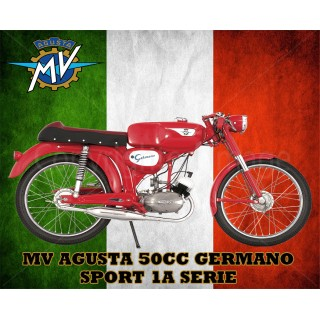 mv-agusta-germano-tin-sign