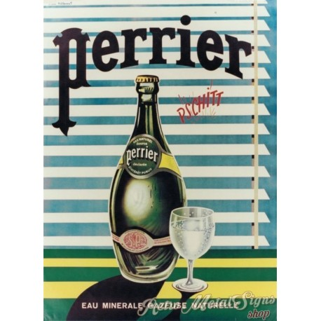 perrier-mineral-water-metal-sign