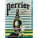 Perrier Mineral Water vintage metal tin sign poster wall plaque
