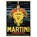 Martini Vermouth vintage alcohol metal tin sign poster wall plaque
