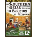 Pullman Express The Southern Belle Railway metal tin sign poster plaque