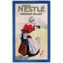 Nestle Chocolat Au Lait metal tin sign poster wall plaque