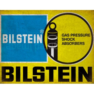 Bilstein Shock Absorbers vintage garage metal tin sign wall plaque