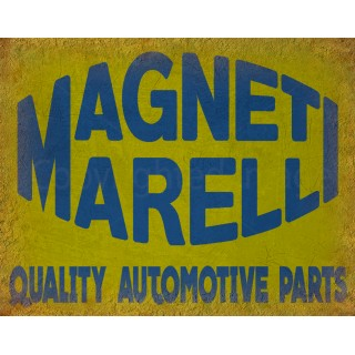 Magneti Marelli vintage garage metal tin sign wall plaque