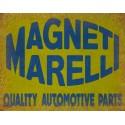 Magneti Marelli vintage garage metal tin sign wall plaque