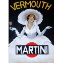 Martini Vermouth vintage alcohol metal tin sign poster plaque