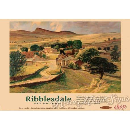ribblesdale-nw-yorkshire-railway-metal-sign