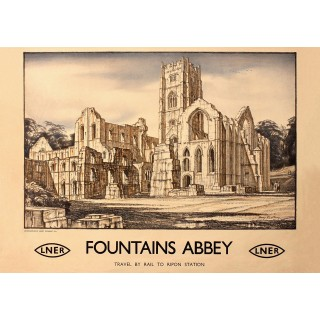 fountains-abbey-yorkshire-railway-metal-sign