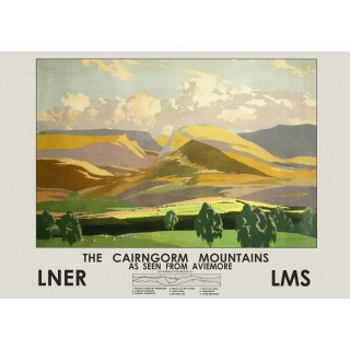 caingorm-mountains-lner-metal-sign