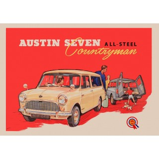 austin-seven-countryman-metal-sign