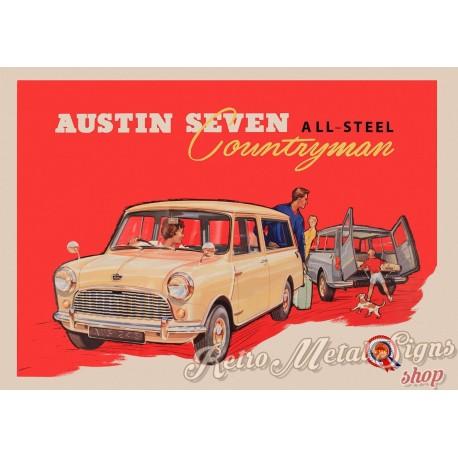 austin-seven-countryman-metal-sign