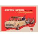 Austin Seven Countryman vintage metal tin sign wall plaque