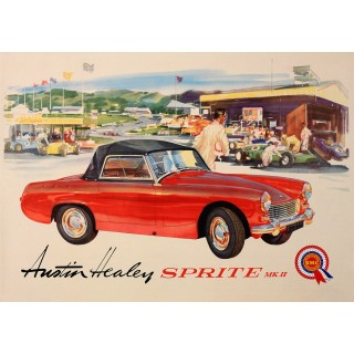 austin-healey-sprite-metal-sign