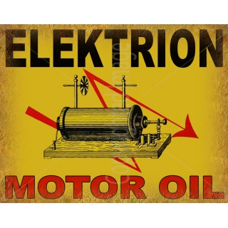 elektrion-motor-oil-metal-sign
