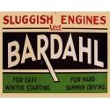Bardahl Motor Oil vintage metal tin sign wall plaque