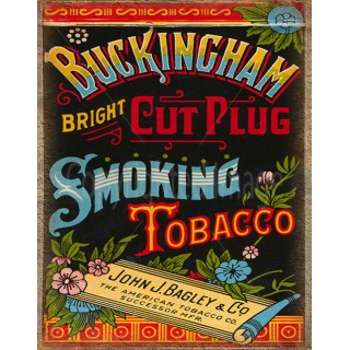buckingham-vintage-tobacco-metal-sign