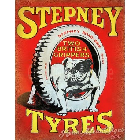 stepney-tyres-vintage-metal-sign