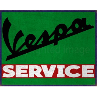 vespa-service-tin-sign