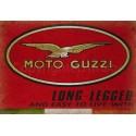 Moto Guzzi  motorcycle Vintage garage metal tin sign