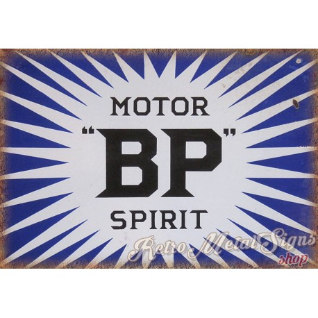 bp-motor-spirit-oil-metal-sign