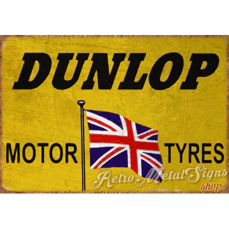 dunlop-tyres-vintage-garage-metal-sign