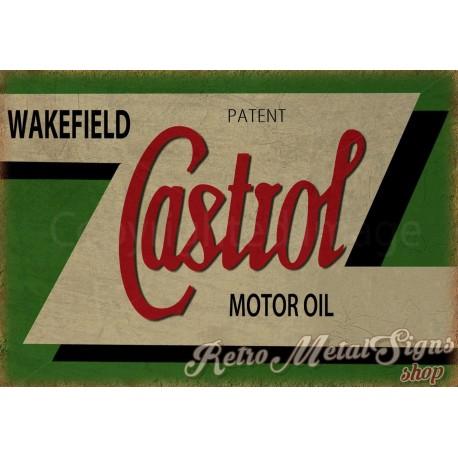 castrol-motor-oil-metal sign
