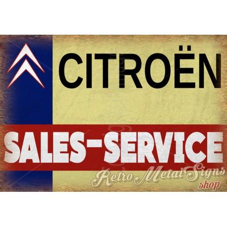 citroen-sales-service-vintage-metal-sign