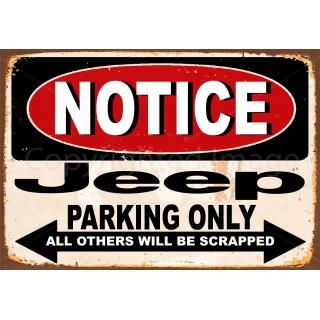 notice-jeep-parking-only-metal-tin-sign