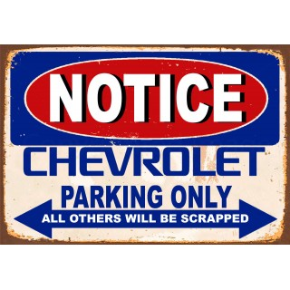 notice-chevrolet-parking-only-metal-tin-sign