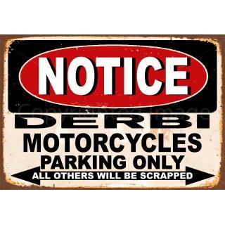 notice-derbi-motorcycle-parking-only-metal-tin-sign