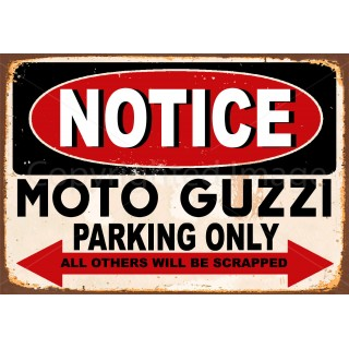 notice-moto-guzzi-motorcycle-parking-metal-sign