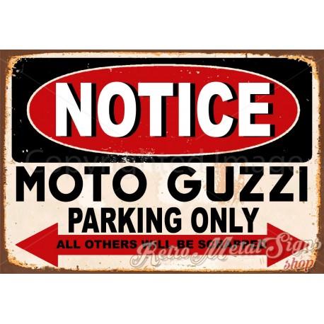 notice-moto-guzzi-motorcycle-parking-metal-sign