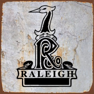 Raleigh motorcycle metal tin signs