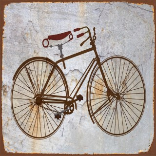 Vintage Bicycles metal tin signs