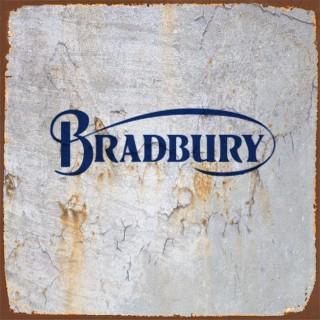Bradbury motorcycle metal tin signs