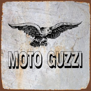 Moto Guzzi motorcycle metal tin signs