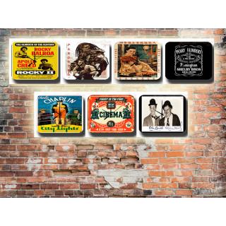 Film Movie Tin Sign Wall Clocks