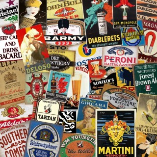 Alcohol Tin Signs