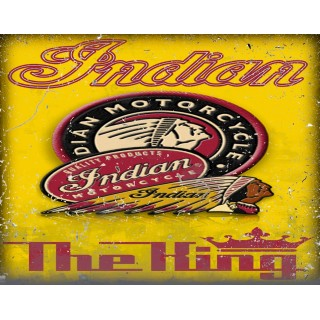 Indian motorcycle metal tin signs