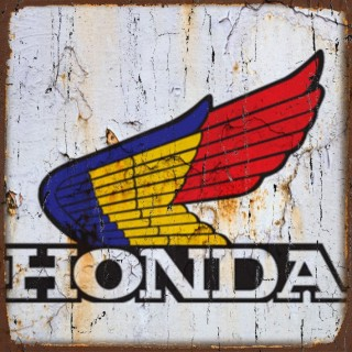 Honda motorcycle metal tin signs
