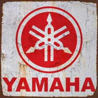 Yamaha motorcycle metal tin signs