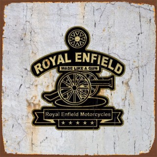 Royal Enfield motorcycle metal tin signs