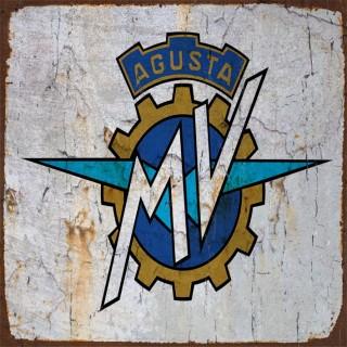 MV Agusta motorcycle metal tin signs