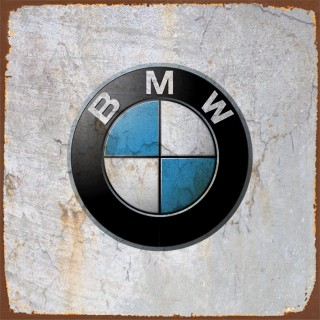 BMW cars metal tin signs