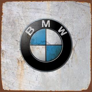 BMW cars metal tin signs