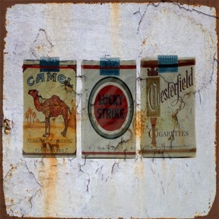 Vintage Tobacco metal tin signs