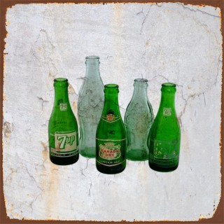 French  Drinks  metal tin signs