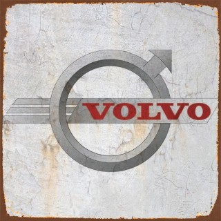 Volvo cars metal tin signs